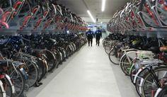 bike parking-delft central station