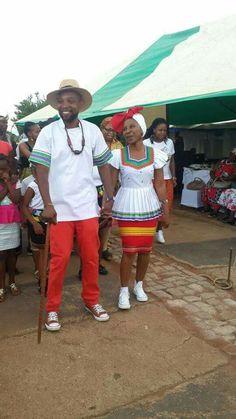Pedi Traditional Attire, Sepedi Traditional Dresses, African Traditional Wedding Dress, Traditional Wedding Attire, African Wedding Dress, African Print Dresses, African Print Fashion, Africa Fashion, African Fashion Dresses