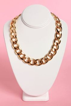 Check it out from Lulus.com! What do we like best about the Best of All Gold Chain Necklace