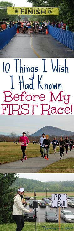 10 Things I Wish I Had Known Before My First Race! Motivation for beginners or those who need some inspiration to get back on the road. Great running, training and racing tips to inspire you to start to run your first or half marathon race or re Marathon Training For Beginners, Running For Beginners, Half Marathon Training, How To Start Running, Race Training, Running Training, Running Workouts, Fun Workouts, Triathlon Training