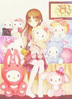 Anime, Hello Kitty