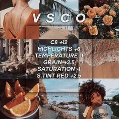Discovered by Find images and videos about vsco, filter and vsco cam on We Heart It - the app to get lost in what you love. Photography Filters, Photography Editing, Feed Vsco, Foto Filter, Vsco Hacks, Best Vsco Filters, Vsco Effects, Vintage Filters, Vsco Themes