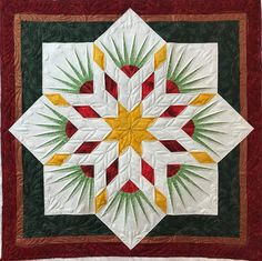Twinkle Star, Quiltworx.com, Made by Dorothy L Sand, Quilted by Kathleen Crabtree
