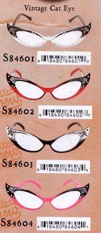Vintage Cat Eye Glasses