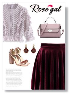 """""""Rosegal 56"""" by bliznec ❤ liked on Polyvore featuring Chicwish and Accessorize"""