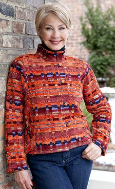 Lucille CrightonDesigns Handwoven Jackets