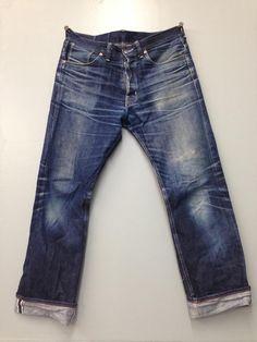 Dawson denim regular fit jeans. 18 months. Avg 5 days per week. 5 cold washes. #madeingreatbritain #japanesedenim