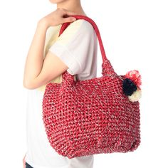 OPAQUE.CLIP crochet bag