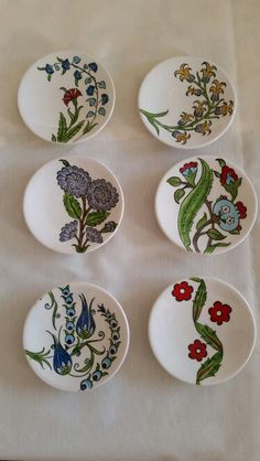 click the image or link for more info. – Hobbies paining body for kids and adult Painted Ceramic Plates, Ceramic Painting, Painted Porcelain, Pottery Painting, Coaster Crafts, Doodle Designs, Pottery Plates, Pottery Designs, China Painting