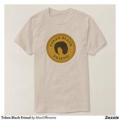 Token Black Friend Tee Shirt