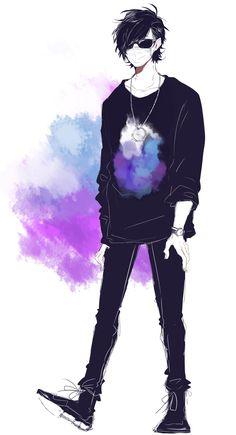 実況者(最俺 ) Anime Character Drawing, Character Art, Character Design, Hot Anime Boy, Anime Guys, Dark Anime, Boy Art, Vocaloid, Haikyuu