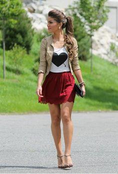 Soooo cute if the skirt was like longer