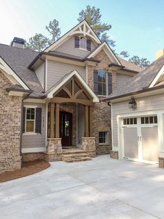 Great floor plan but needs some changes. Would take the master upstairs, switch the garage to other side and put a pantry where the mudroom is.