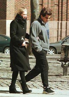 Carolyn Bessette Kennedy and John F. Kennedy Jr. - 1996