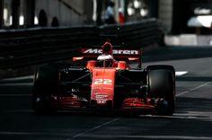 #22 Jenson Button...McLaren Honda Formula 1 Team...McLaren MCL32...Motor Honda RA617H V6 t h 1.6...GP Monaco 2017