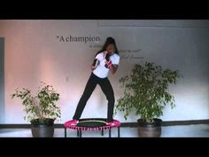 Bellicon Kickboxing Rebounding for Beginners - YouTube