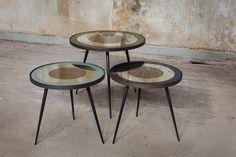 Bullseye side tables - Notre Monde