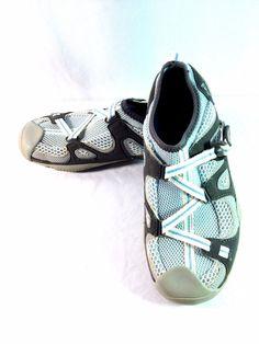 Sperry Top-Sider Son-R Feedback Water Boat Shoes Grey/Blue Womens 7.5M 9287210 #SperryTopSider #WalkingHikingTrail