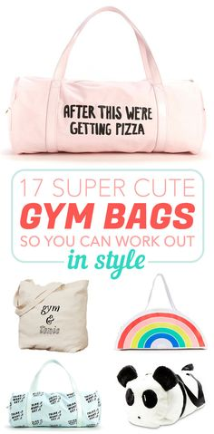 176a1e3a63 17 Totally Cute Gym Bags If You Love Working Out