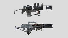 ArtStation - Guns, Tipa_ Graphic