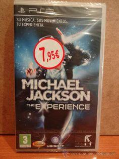 MICHAEL JACKSON. THE EXPERIENCE. SU MÚSICA, SUS MOVIMIENTOS, TU EXPERIENCIA. PRECINTADO.