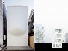 L'architecte japonais Hiroshi Nakamura a conçu cette Maison SH située à Tokyo. Achevée en 2005, elle propose des courbes pour le moins généreuses.