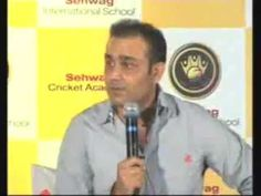 Virender Sehwag starts cricket academy in Jhajjar town of Haryana.