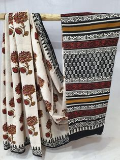 Kirans Boutique jaipur Summer wear Beige and Black cotton mulmul saree with blouse for ladies The post Summer wear Beige and Black cotton mulmul saree with blouse appeared first on Kiran's Boutique. Hand Painted Sarees, Block Print Saree, Suits For Sale, Summer Patterns, Printed Sarees, Cotton Saree, Summer Wear, Black Fabric, Textile Design