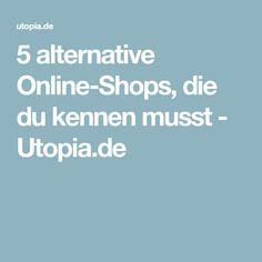 5 alternative Online-Shops, die du kennen musst - Utopia.de