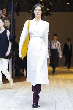 Fashion fan blog from industry supermodels: Mona Matsuoka - Celine F/W 17.18 Paris