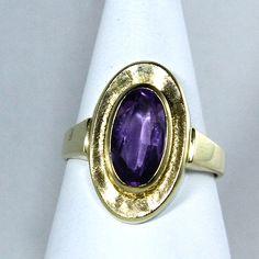 1960s vintage #amethyst ring