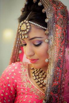 Yasmeen  Sidak (Chandigarh) Real Indian Wedding Photos - Wed me Good #indianbride #gorgeous #polki