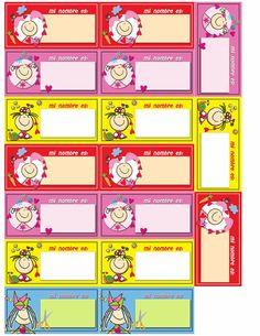 Name Labels, Name Tags, Preschool Names, Phonics Activities, Etiquette, Clipart, Back To School, Homeschool, Teaching