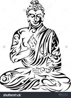 Find Buddha Tribal Buddha Seated Buddha Vector stock images in HD and millions of other royalty-free stock photos, illustrations and vectors in the Shutterstock collection. Buddha Tattoo Design, Buddha Tattoos, Hindu Tattoos, Maori Tattoos, Symbol Tattoos, Samoan Tattoo, Polynesian Tattoos, Buddha Wall Art, Buddha Painting