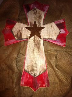 Christain Cross Western Cross Any bible verse by AshAndAly on Etsy, $35.00