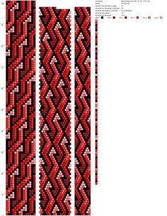 Рисуем схемы для жгутов из бисера, вышивки и др.'s photos – 1,014 photos | VK