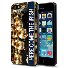 """NCAA ND Notre Dame """"Here come the Irish"""", Cool iPhone 5 5s Case Cover Phoneaholic http://www.amazon.com/dp/B00THEPWZS/ref=cm_sw_r_pi_dp_QQJnvb0NYMD7E"""