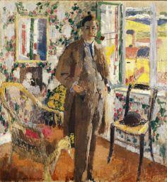 """""""Portrait d'Ernest Wijnants"""", de Rik Wouters."""