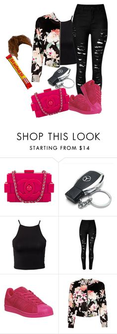 """""""fun"""" by offically-tri1l on Polyvore featuring Chanel, Mercedes-Benz, NLY Trend, adidas and Marciano"""