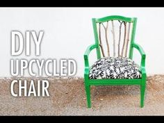 DIY Tree Branch Seating - The Trash to Treasure Statement Chair Tutorial is Incredibly Creative (VIDEO)