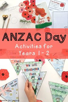 Check out these ANZAC day activities for children. They include poppies to wear / create Sensory Activities, Learning Activities, Activities For Kids, Teaching Ideas, Crafts Toddlers, Teaching Resources, Create Meaning, Healthy School Snacks, Creative Snacks