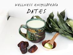 Wellness Encyclopedia: Dates & Date-Sweetened Matcha Latte