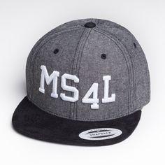 MS4L Snapback Cap im Black/Grey Style