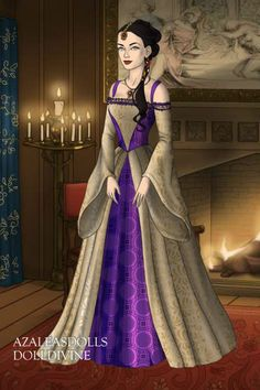 Morgana By Deanwinchester Created Using The Tudors Doll Maker Dolldivine Com