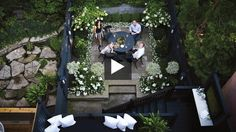 Handsome Tiered Urban Backyard | House & Home Online TV