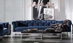 Italia Chesterfield Sofa