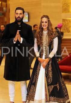In Pics: Yuvraj Singh and Hazel Keech's sangeet ceremony is grand and beautiful!