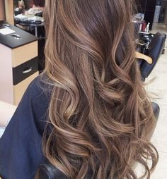 Trendy Long Hair Women's Styles    Light brown long hair with waves.    - #HairStyle