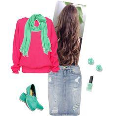 My modest style!
