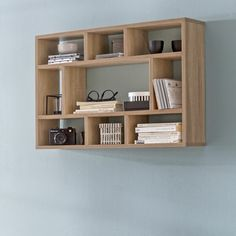 Free delivery over to most of the UK ✓ Great Selection ✓ Excellent customer service ✓ Find everything for a beautiful home Unique Wall Shelves, Corner Wall Shelves, Wall Shelf Decor, Cube Shelves, Wall Bookshelves, Wood Wall Shelf, Bookshelf Design, Wall Shelves Design, Hanging Shelves